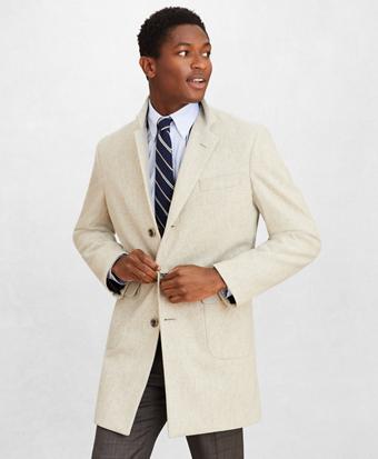 Golden Fleece® Double-Weave Wool Topcoat