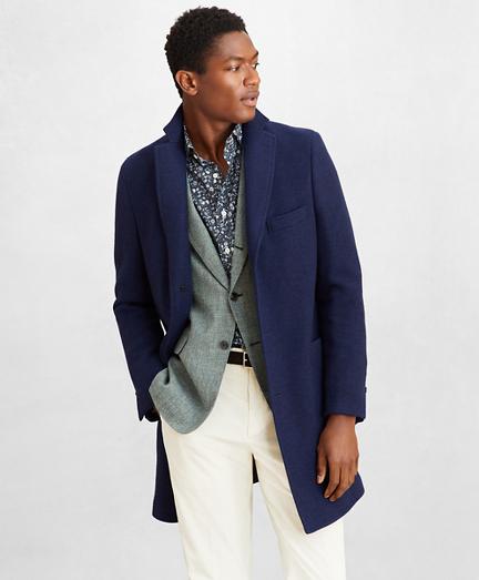 Golden Fleece® Wool-Cashmere Topcoat
