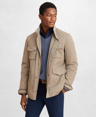 Golden Fleece® Four-Pocket Field Jacket