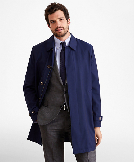 Golden Fleece® Merino Wool Trench Coat