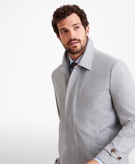Golden Fleece® Merino Wool Trench Coat