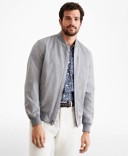 Golden Fleece® Merino Wool Bomber Jacket