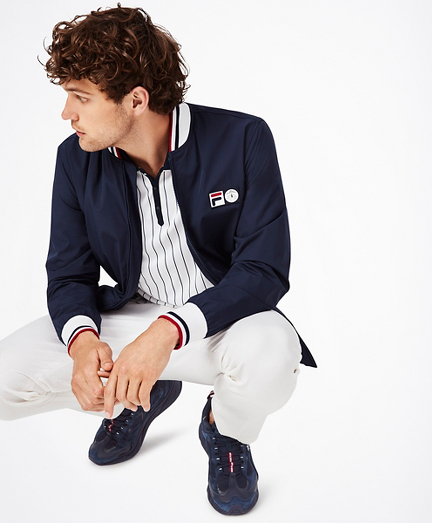 Brooks Brothers x FILA Stadium Jacket