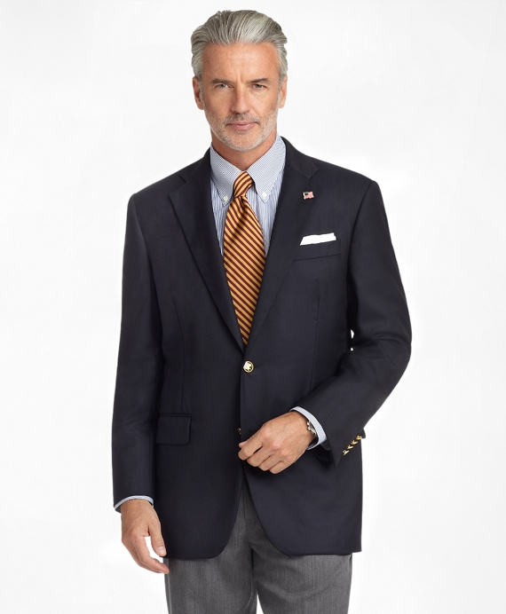 Madison Fit Golden Fleece® Saxxon™ Wool Reserve Blazer Navy