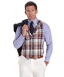 Five-Button Madras Vest