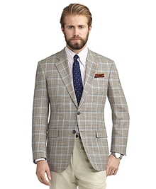 Madison Fit Two-Button Bold Deco Sport Coat