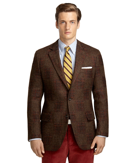 Own Make Double-Sided Patchwork 102 Sport Coat Brown