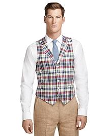 Madras Linen Vest