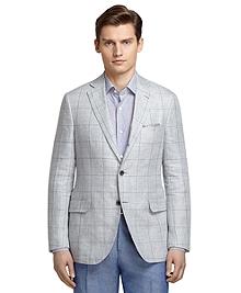 Grey Windowpane Sport Coat