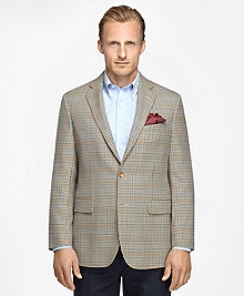 Madison Fit Tonal Check with Blue Deco Sport Coat