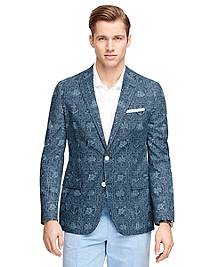 Fitzgerald Fit Nautical Print Sport Coat