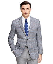 Regent Fit Plaid Sport Coat