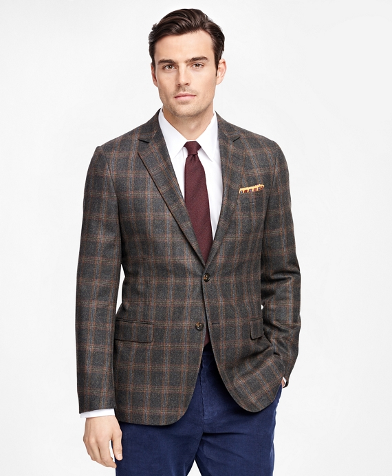 Fitzgerald Fit Windowpane Sport Coat Sage