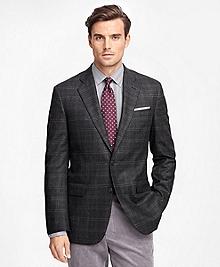 Madison Fit Saxxon Wool Multi Windowpane Sport Coat