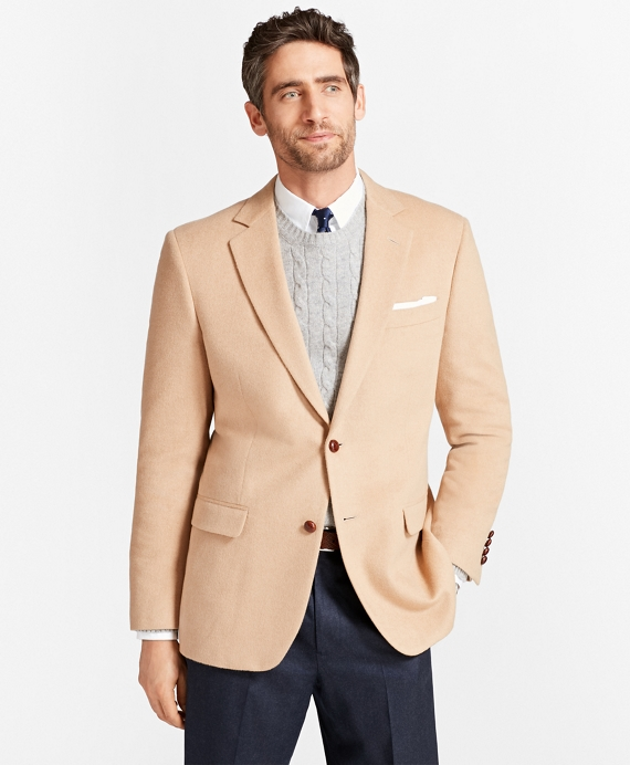 Madison Fit Camel Hair Sport Coat Camel