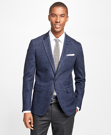 Milano Fit Houndstooth Sport Coat