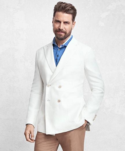 Golden Fleece® Double-Breasted Twill Sport Coat