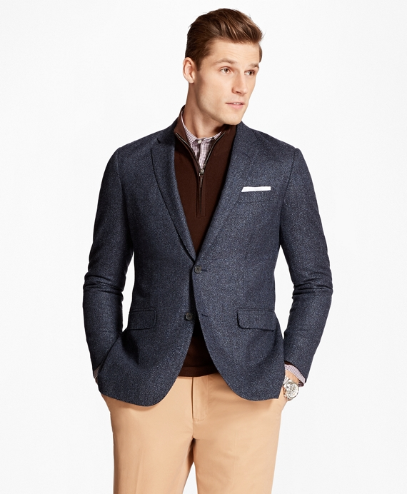 Milano Fit Donegal Sport Coat Blue