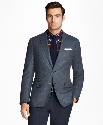 Regent Fit Wool and Cashmere Sport Coat
