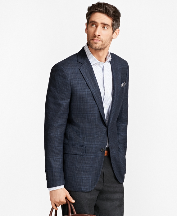 Madison Fit Check with Bold Deco Sport Coat Blue