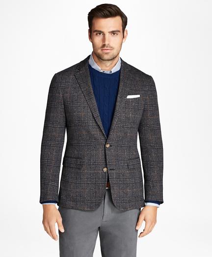 Regent Fit Plaid Sport Coat