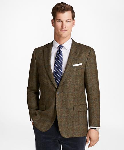 Regent Fit BrooksTweed® Brokenbone with Deco Sport Coat