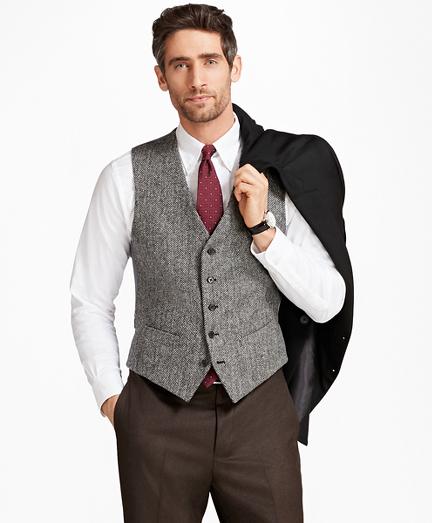 BrooksTweed® Herringbone Vest