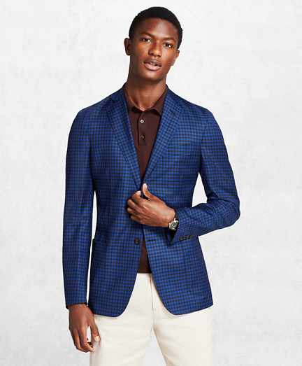 Golden Fleece® BrooksCloud™ Gingham Sport Coat