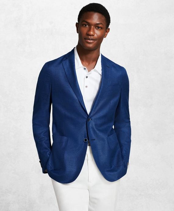 Golden Fleece® Twill Sport Coat Blue