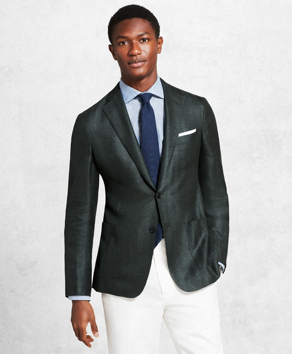 Golden Fleece® Herringbone Sport Coat Green