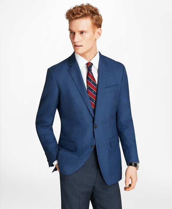 Milano Fit Solid-Non-Solid Sport Coat Blue