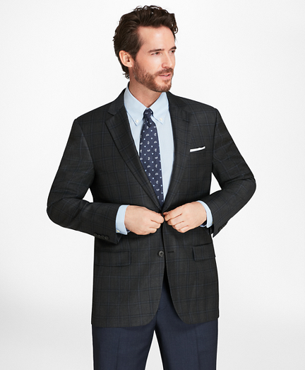 Madison Fit Bold Windowpane Sport Coat