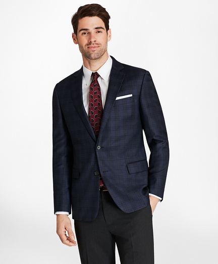 Regent Fit Blue Plaid with Deco Sport Coat