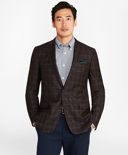 Regent Fit Check with Windowpane Sport Coat
