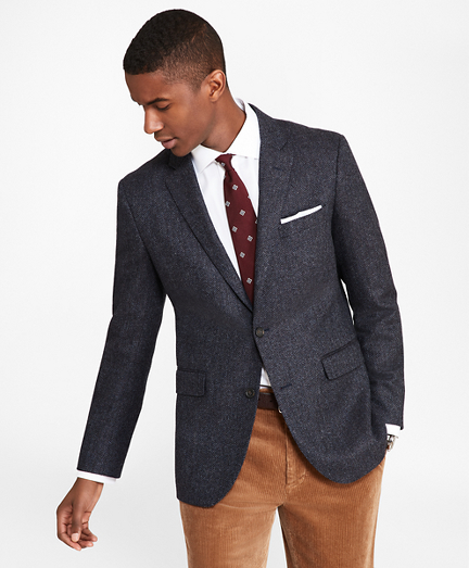 Milano Fit Herringbone Sport Coat