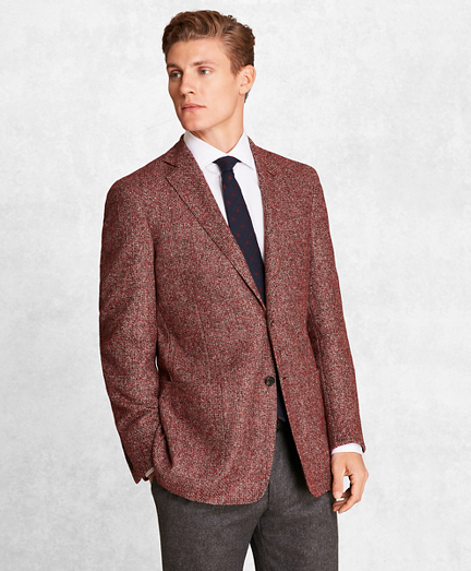 Golden Fleece® BrooksCloud™ Wool-Blend Basketweave Sport Coat