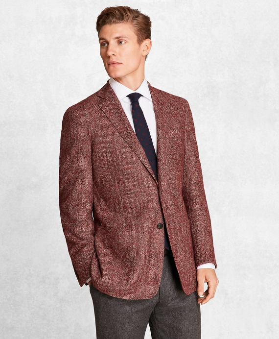 Golden Fleece® BrooksCloud™ Wool-Blend Basketweave Sport Coat RED