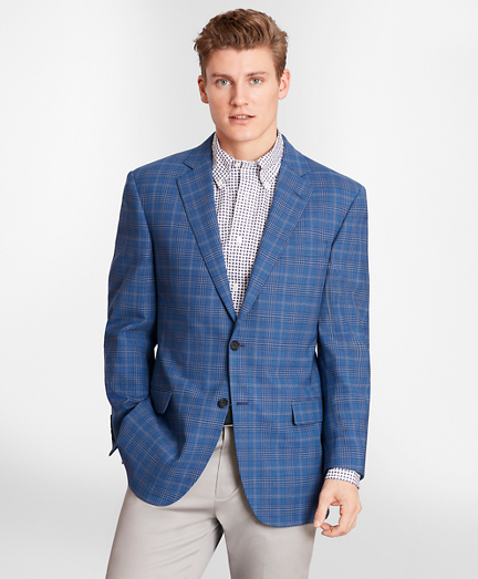 Madison Fit BrooksCool® Check Sport Coat