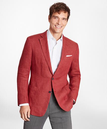 Regent Fit Linen Patch Pocket Sport Coat