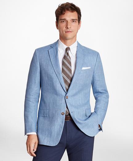 Regent Fit Linen Sport Coat