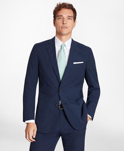 Regent Fit Check Seersucker Sport Coat