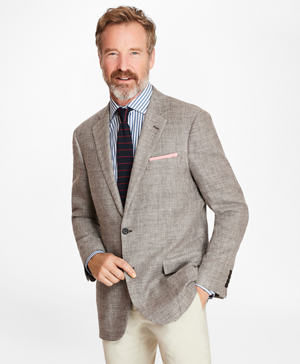 Madison Fit Basketweave Sport Coat