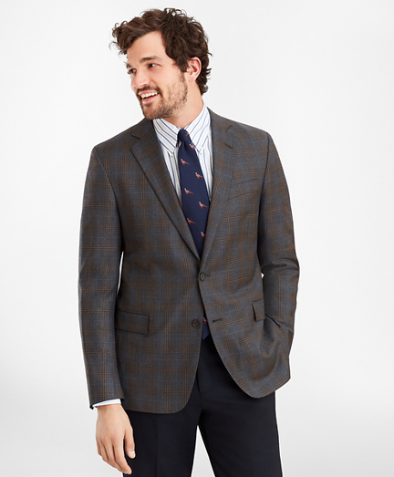 Regent Fit Multi-Plaid Sport Coat