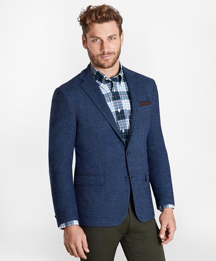 Regent Fit Two-Button Knit Sport Coat