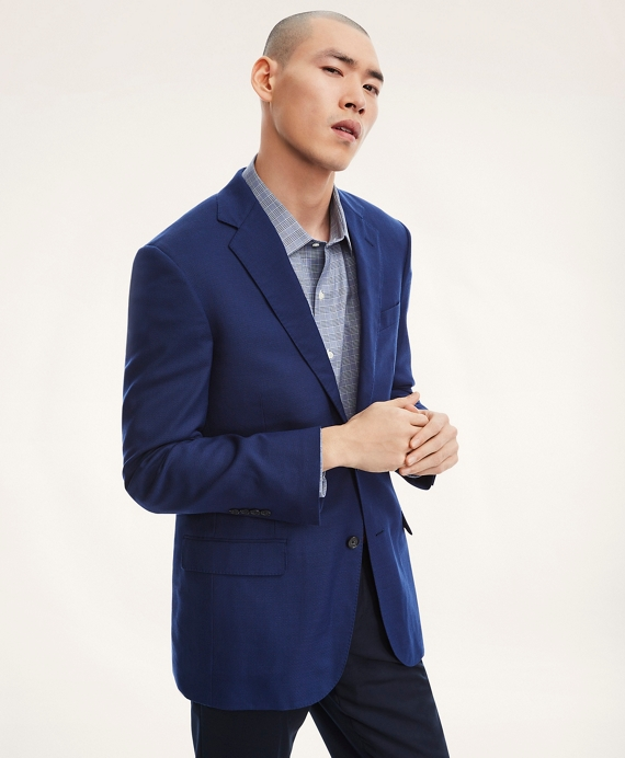 Madison Fit Hopsack Sport Coat Dark Blue