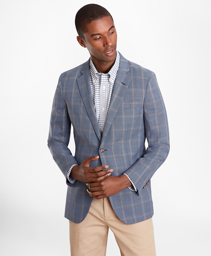 Milano Fit Multi-Plaid Sport Coat