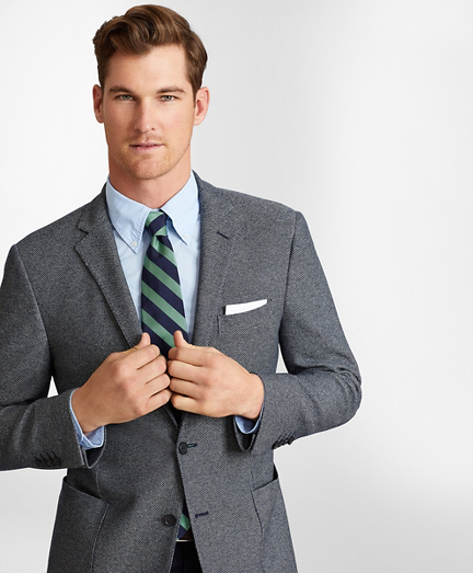 Regent Fit Jersey Knit Sport Coat