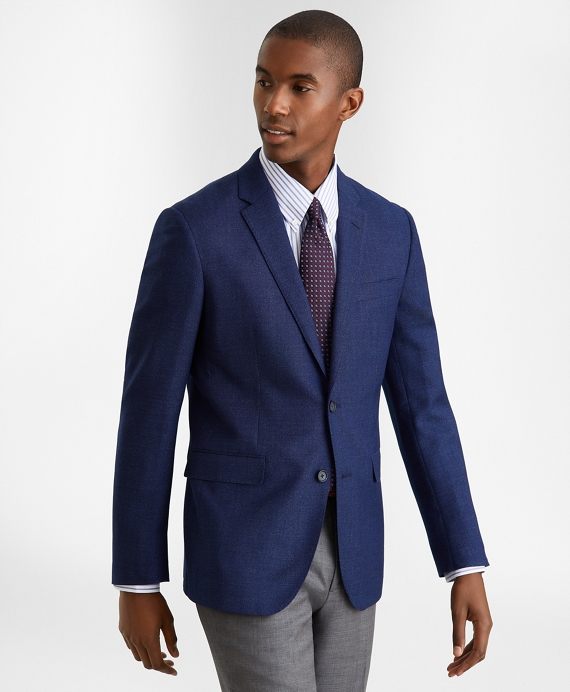 Milano Fit Hopsack Sport Coat Blue