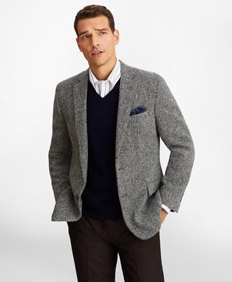 Regent Fit Harris Tweed Sport Coat
