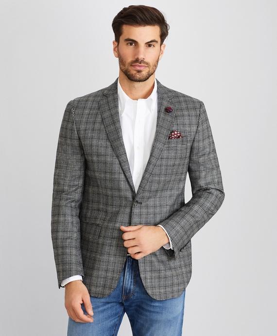 Regent Fit Check Sport Coat Grey